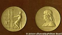 USA Pulitzer Preis Medaille