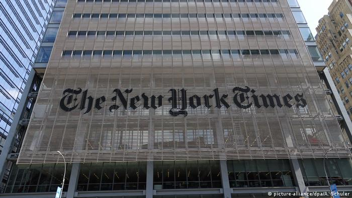 USA New York - New York Times Gebäude Pulitzer Preis