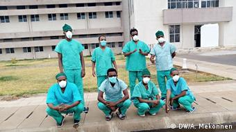 Äthiopien Arzt Dr. Addisu Melese Bahir Dar Coronavirus