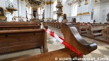 Deutschland Wiblingen Gottesdienste beschränkt wieder möglich