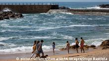 Portugal Porto | Coronavirus | Menschen am Strand