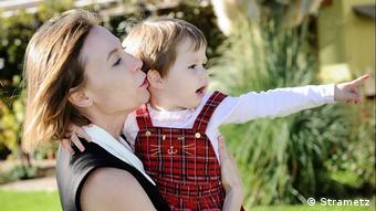 Анна Польц с дочкой Полиной