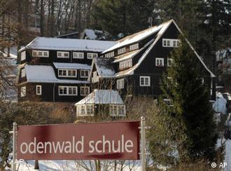 A view of Odenwald school in the state of Hesse