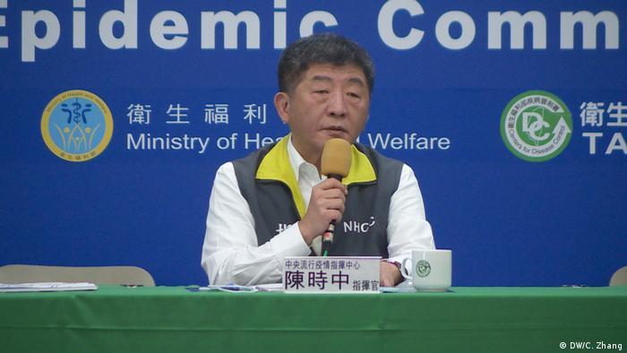 Taiwan Taipeh Chen Shih-Chung (DW/C. Zhang)