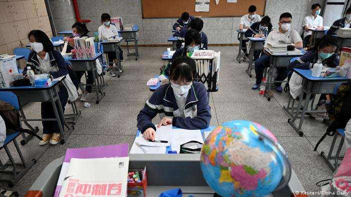 Escuela en Wuhan, China. (6.05.2020).