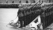 Moskau Roter Platz Siegesparade am 24. Juni 1945