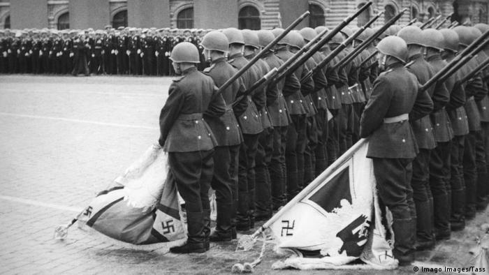 Парад 1945 года