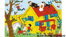 75 Jahre Pippi Langstrumpf | Illustration von Ingrid Vang Nyman