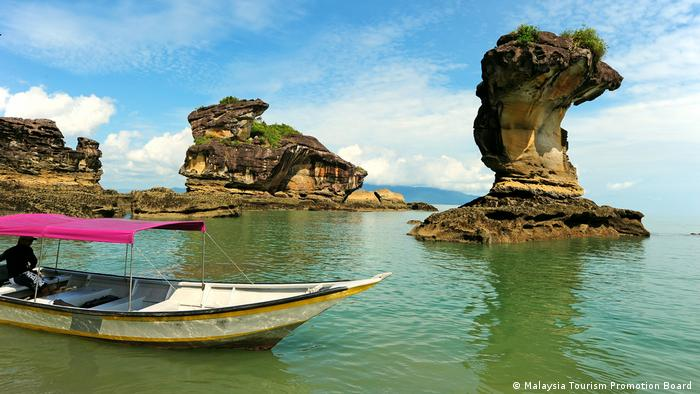 Employees in the Bako National Park on the Malaysian part of the island of Borneo are hoping for better days
