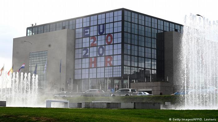 Kroatien Zagreb  National- und Universitätsbibliothek
