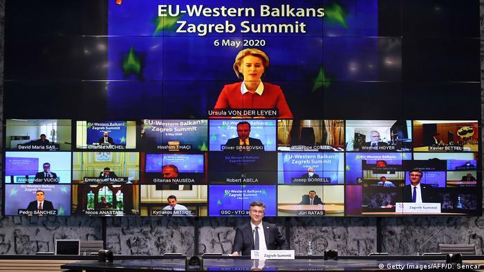 Samit EU-Zapadni Balkan održan je u maju 2020. virtuelno, zbog korone