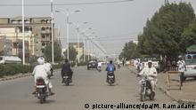 Tschad N'Djamena | Coronavirus | Leere Straßen