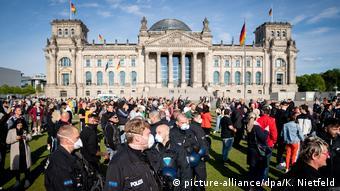 Διαδήλωση αντιεμβολιαστών στο Βερολίνο