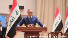 Irak Regierung wird vom Parlament bestätigt