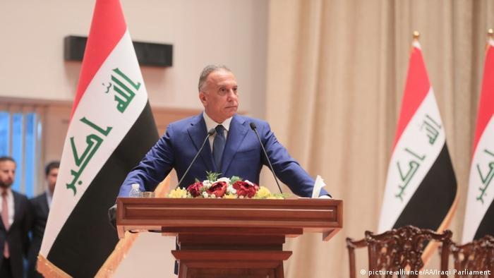 رئيس الوزراء العراقي الجديد مصطفى الكاظمي.