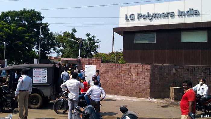 Indien Chemieunfall bei Visakhapatnam (Foto: AFP)