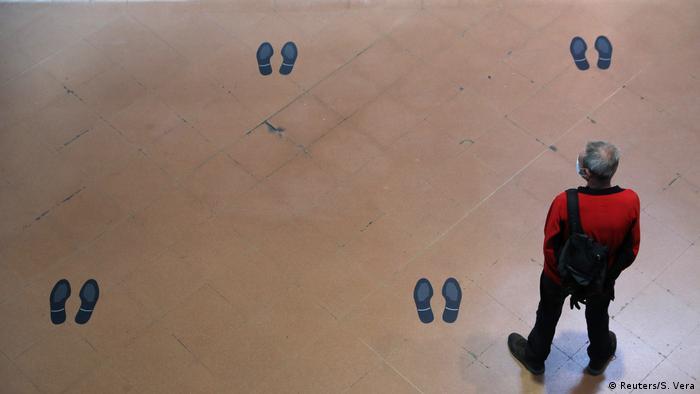 Upozorenje na nužnost držanja rastojanja u Madridu