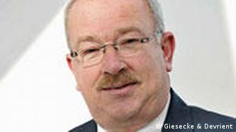 Wolfgang Knoerle, group senior vice president at Giesecke & Devrient