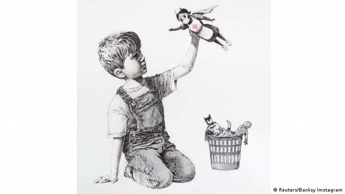 Banksy - Game Changer (Reuters/Banksy Imstagram)