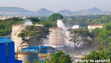 Indien   Chemieunfall bei Visakhapatnam