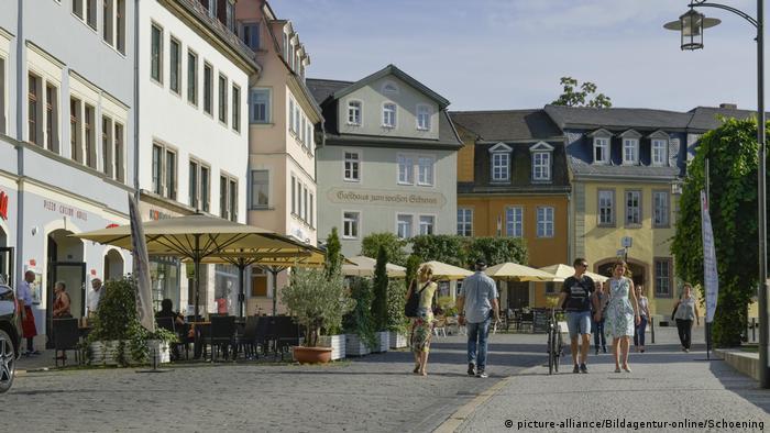 Frauenplan street, Weimar, Germany (picture-alliance/Bildagentur-online/Schoening)