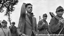 Deutsche Kriegsgefangene in Frankreich 1945