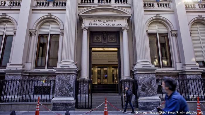 Argentinien Buenos Aires | Argentinische Zentralbank (Imago Images/ZUMA Press/R. Almeida Aveledo)