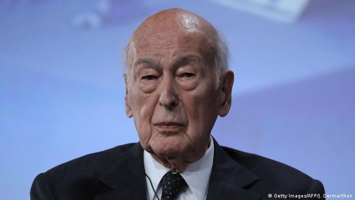 ehemaliger Präsident Frankreichs Valery Giscard d'Estaing