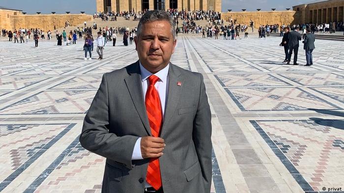 Turkish journalist Arif Kizilyalin