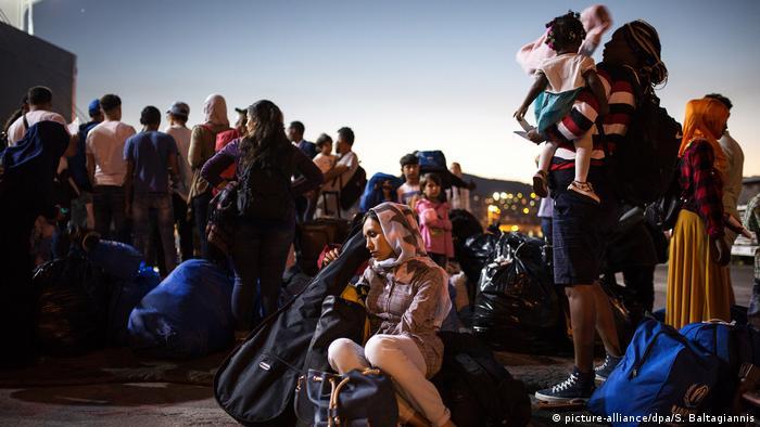 Des demandeurs d'asile en Grèce dans l'attente d'être relocalisés dans différents pays de l'UE