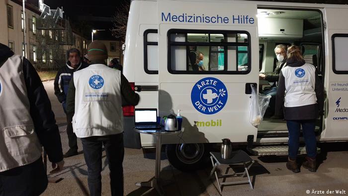 Behandlungsbus der open.med München