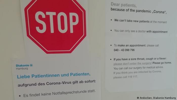 من عواقب وباء كورونا: لم تعد هناك ساعات الاستشارة الطبية الطارئة
