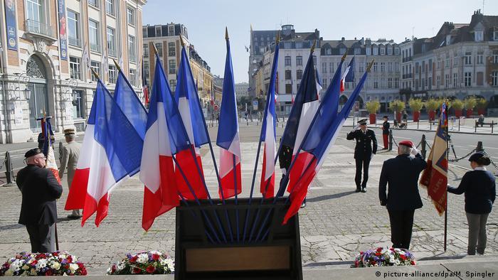 Во французском городе Лилль церемония в честь 75-летия окончания Второй мировой войны
