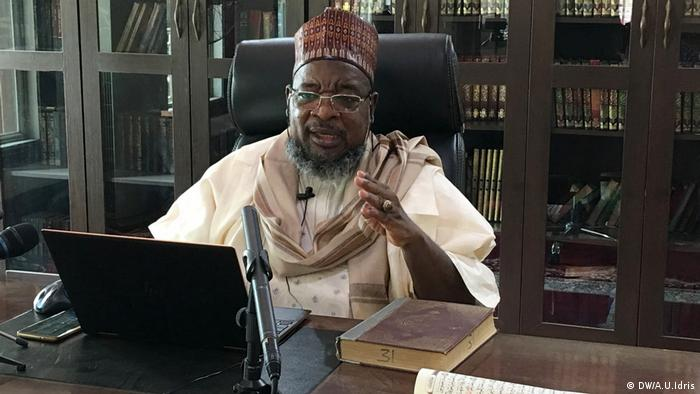 A Muslim cleric uses social media platforms during Nigeria's lockdown