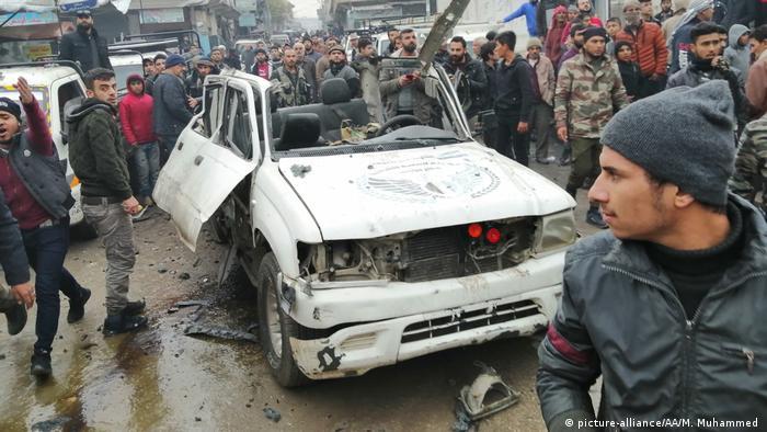 Syrien Explosion in Jarabulus