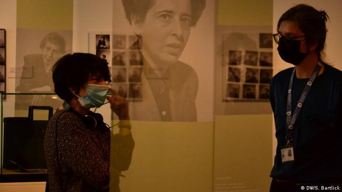 Exposição sobre Hannah Arendt no Museu Histórico de Berlim