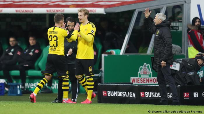 SV Werder Bremen gegen BVB Borussia Dortmund