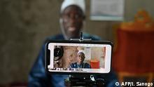 Ramadan in Afrika Moschee in Elfenbeinküste