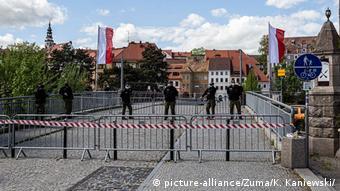 Участок германо-польской границы в Гёрлице