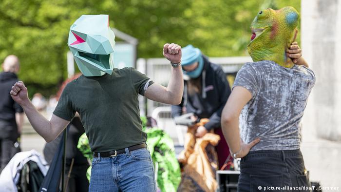 Berlin Hygiene-Demo Protest gegen Corona-Regeln