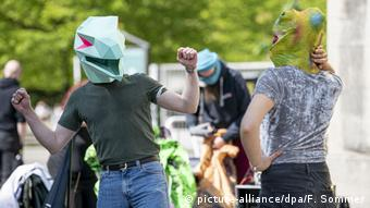 Διαδήλωση κατά των μέτρων στο Βερολίνο