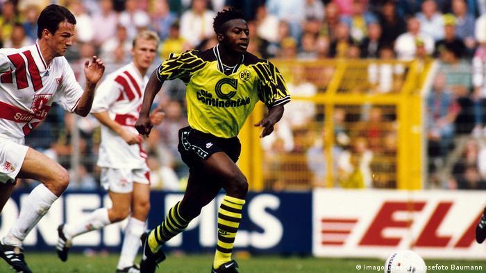 Ibrahim Tanko, Borussia Dortmund (Imago Images/Pressefoto Baumann)