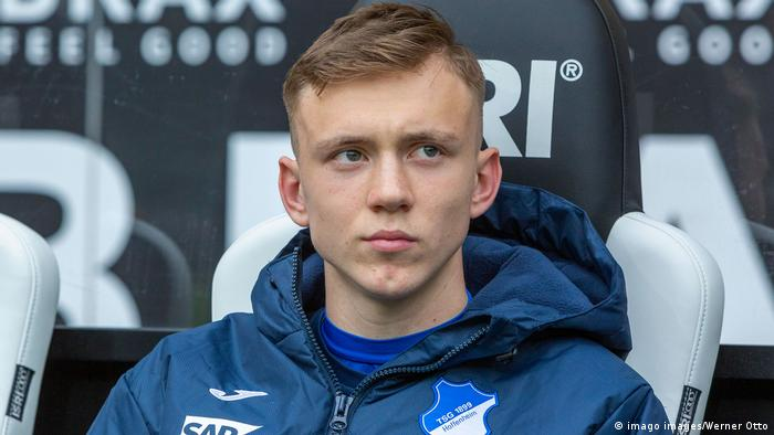 Maximilian Beier, Hoffenheim (imago images/Werner Otto)