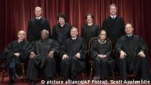 USA Ruth Bader Ginsburg | Gruppenfoto Supreme Court 2018