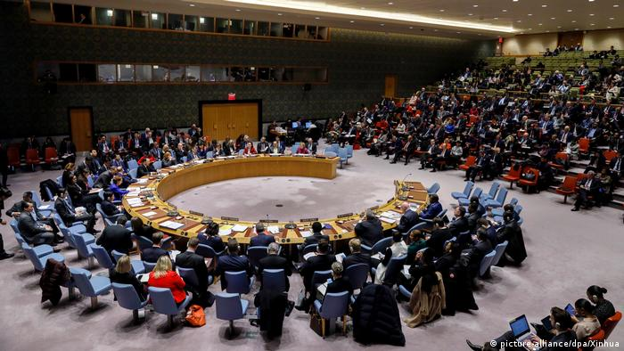 Meeting of the US Security Council in January 2020