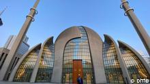 Zentramoschee in Köln Deutschland Fajr Ruf zum Gebet