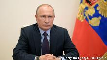 Russland Moskau Wladimir Putin Coronavirus