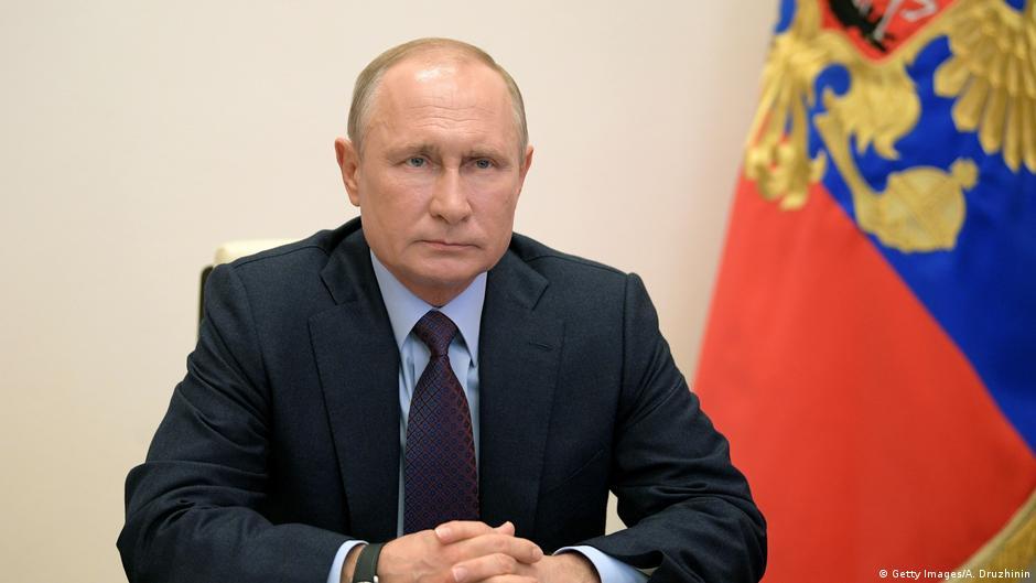 Russia's Putin claims victory in global coronavirus vaccine race