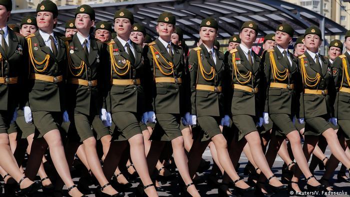 Парад в Минске по случаю 75-летия Победы