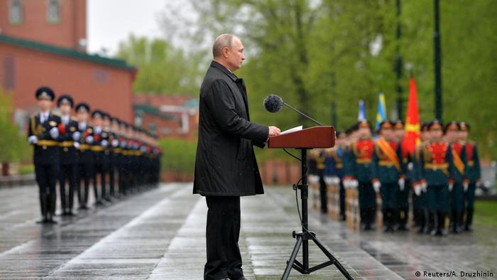 Russland Moskau Wladimir Putin Gedenktag Tag der Befreiung Zweiter Weltkrieg Rede